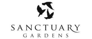Sanctuary Gardens Kelowna Wedding Venue - Black Logo